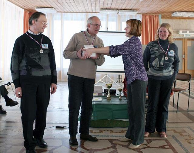 Церемония подведения итогов и награждения победителей бёрдинг-ралли, фото Натальи Алексеевой