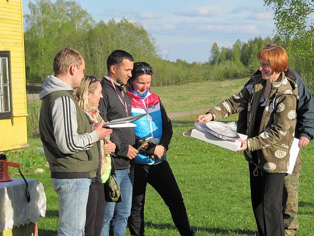 Церемония награждения. Команда «Булочка». Фото - Николай Харитонов