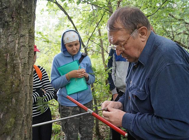 Занятия по лесоведению. Автор - Анастасия Завьялова