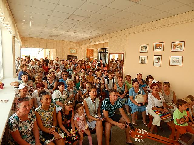 Караван мира «Птицы без границ 2015» в Себеже   7 августа 2015 года