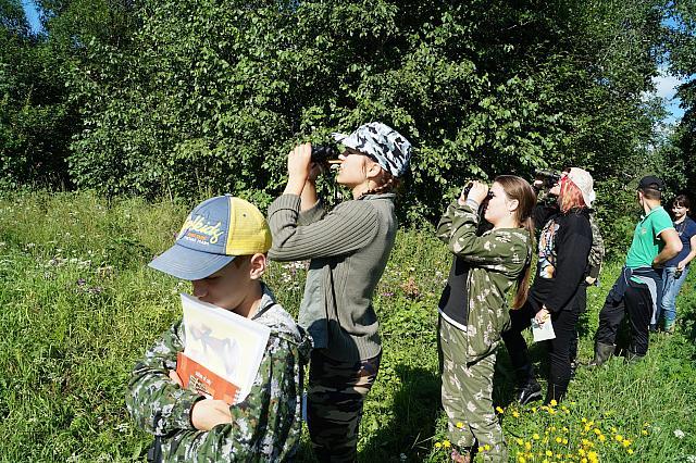 Занятия по орнитологии | Мария Завьялова
