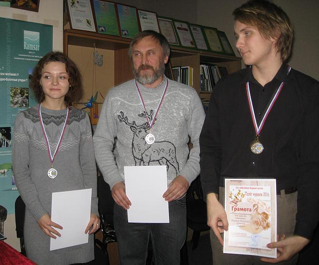 Церемония награждения бёрдинг-ралли | Нина Горелова