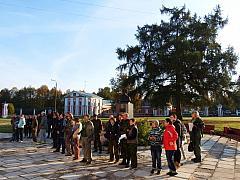 Предстартовый брифинг на турбазе МАИ в Яропольце. Автор фото - Владимир Дмитриев