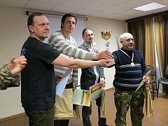 Чемпионы бёрдинг-ралли - команда «Бульбаши». Автор - Нина Горелова